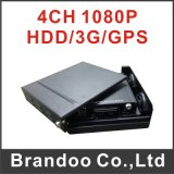 Mini Size HDD Vehicle DVR Support 3G/GPS/WiFi, 4CH/8CH 1080P Full HD Video Quality