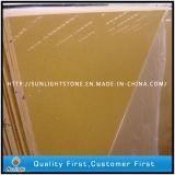 Artificial Yellow Quartz Stones for Kitchen Countertop