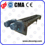 Twin Screw Conveyor Use in Ceramic Sand Production Line with Good Price