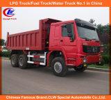 Heavy Duty 6X6 Sinotruk HOWO All Wheel Drive Tiper Truck