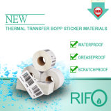 Rifo BOPP Based Thermal Transfer Paper by Bar-Code Printer