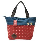 Pretty Design Custom Printed Heavy Duty Zip Cotton Canvas Tote Bag