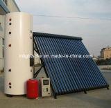 Split High Pressure Heat Pipe Solar Heater System
