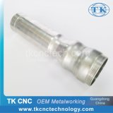 Aluminium Tube Fittings Valve Interface Clamp Metal CNC Spinning