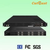 12 HD-SDI to 16* DVB-C/8*DVB-T Digital RF HD Encoder Modulator