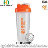 Customized 600ml BPA Free PP Plastic Protein Shaker Bottle