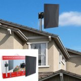 Outdoor TV Antenna with with Directional Detachable Antenna Signal Booster for FM/VHF/UHF