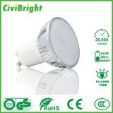 Sliver LED Spotlights 6W SMD GU10 of High Brightness