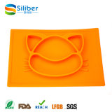 One-Piece Silicone Infant Placemat Baby Feeding Placemat