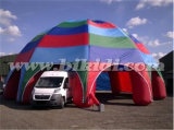8 Leg Rainbow Color Inflatable Spider Tent K5093