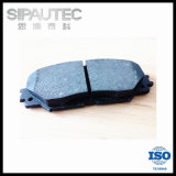No Noise and No Dust Braking Brake Pad for Toyota (04465-42160/D1210)