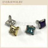 1792/100 Square Diamond Rhinestone Stone Rivet in Square Shape 7mm