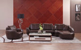 Home Furniture Wooden Leather Living Room Sofa /Singer Sofa (UL-NS171)