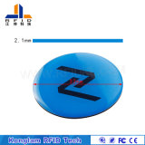 Round Coins Absorbing Waves RFID Printing Tag for Mold Tracking