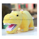15 Inch Plush Hippo Toy Gift Stuffed Animal Home Decoration Toy