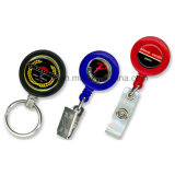 Custom Metal Yoyo Badge Holder, Plastic Badge Reel, Ski Straps