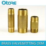 Brass Barrel Nipple Male X Male