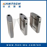 RFID Card Recognition Security Flap Barrier Gate with Face Recognition System