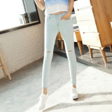 Wholesale Stretch Lady′s Tight Denim Jeans