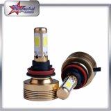 4 Side LED Car Headlight for Ranaults Car, 60W LED Car Headlight COB Chip High Lumen H11 LED Car Headlight Auto Lamps