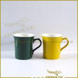 Colored Stripes Ceramic Mug Bullet Shape Ceramic