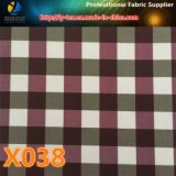 Yarn Dyed Fabric in Promt Goods, Polyester Check Fabric (X038-40)