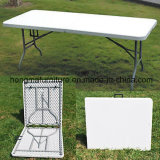6FT 72*30′′ HDPE Suitcase Folding Table, Plastic Folding Table, Garden Table