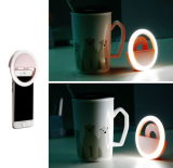 Portable Clip-on Mini 36 LED Selfie Ring Light Lamp Fill-in Light Night Supplementary Lighting for iPhone Samsung Smartphone PC