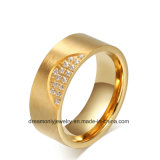 OEM/ODM Gold Plated 316L Stainless Steel Ring Jewelry Unisex