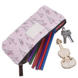 Lovely Water-Proof Pencil Case / Canvas Pen or Pencil Case /Stationery Pouch Bag Case Cosmetic Bags, Set of 4