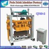 Qt40-2 Small Manual Fly Ash Solid Brick Machine
