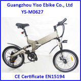 Dual Suspension Motorized Bicycle with 36V 10.4ah Panasonic Battery