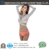 Women Two Pieces Long Sleeve Swimwear Bathing Surfing Swimsuit