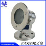 Replendent 18W LED Underwater Light 110V Stainless Pool Fiting Waterproof IP68