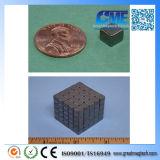 "N42 Black Nickel F1/4""X1/4""X1/4"" Cube Magnet"