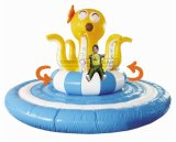 Cheer Amusement CH-II100210 Inflatable Interactive Rotating Octopus Amusement Equipment