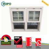 2016 Latest Design Single Hung Sash Window with Grill Design