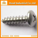 Ss316 Phillips Pan Head Metal Self Tapping Fasteners Screws