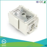 35mm2 1-in 4-out Power Distributor DIN Rail Terminal Block