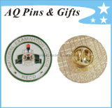 National Metal Lapel Pin Badge with Soft Enamel Badge (badge-060)
