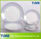 20PCS Porcelain Lead Free Dinnerware Sets