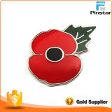 100 Years Anniversary Souvenir Traditional Poppy Pin Badge