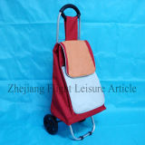 Waterproof Light Weight Shopping Bag with 2 Wheels