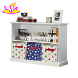 New Design Eco-Friendly Wooden Kids Toy Organizer for Bedroom W08c239