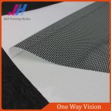 PVC Self Adhesive One Way Vision Fabric with Available Price