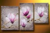 Wholesale Handmade Group Flower Oil Painting