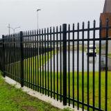 Security Three Rails Aluminium Tubular Fence