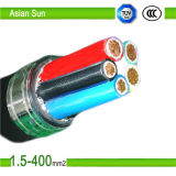 0.6/1kv Copper Cu/XLPE PVC Power Cable 300mm2 Electrical Cables