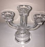 Popular Design Decorative Candle Holder with Glass