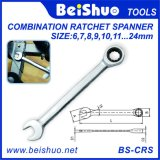 Labor Saving Multi-Size Combination Ratchet Spanner/Wrench